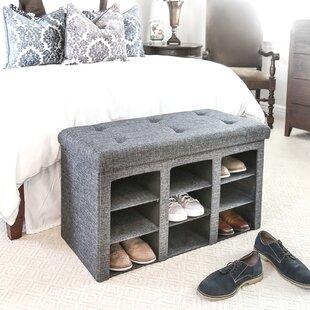 Upholstered Storage Bench by Winston Porter