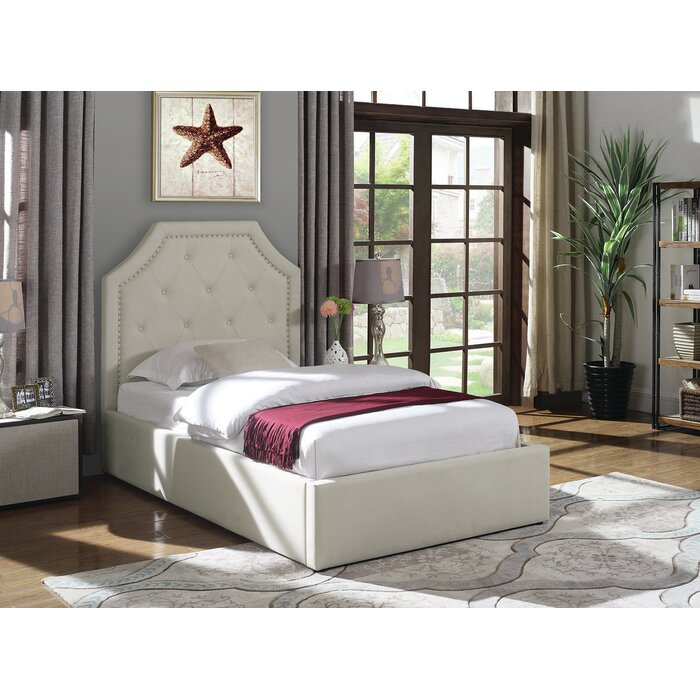cheap for discount 43cb7 97f77 Hurley Upholstered Platform Bed