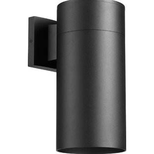 Orren Ellis Ensa Traditional 1-Light Outdoor Sconce