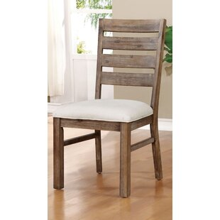 Grenadille Upholstered Dining Chair (Set of 2) August Grove