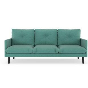 Cracraft Linen Weave Sofa by Corrigan Studio