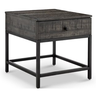 Carnes End Table with Storage ..