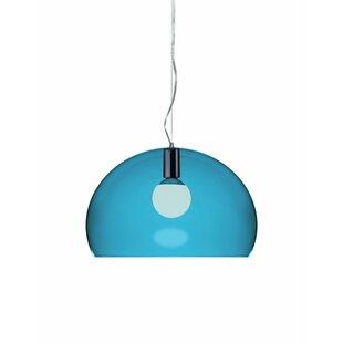 Kartell FL/Y 1-Light Suspension Bowl Pendant