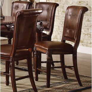 Wendel Counter Height Upholstered Dining Chair (Set of 2) Astoria Grand