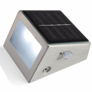Solar 2-Light LED Step Lighting By Pomegranate Solutions, LLC Outdoor Lighting