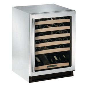 48 Bottle Right-Hand Convection Cool Single Zone Built-in Wine Cellar by U-Line