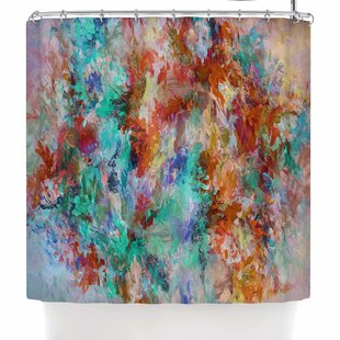 East Urban Home Ebi Emporium the Nexus 2 Shower Curtain