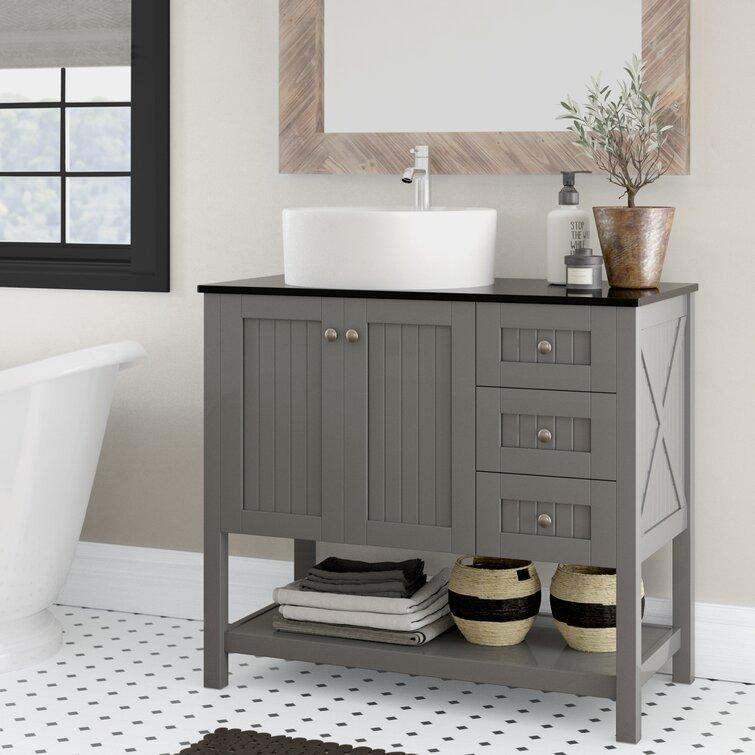 Breakwater Bay Lysia 36 Single Bathroom Vanity Set Reviews Wayfair