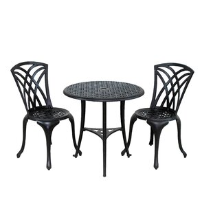 Gouge 3 Piece Bistro Set by August Grove