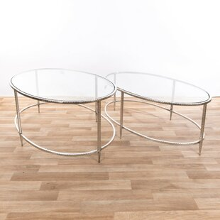 Harva 2 Piece Nest Of Tables By Canora Grey