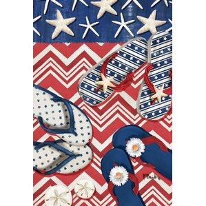 american beach garden flag