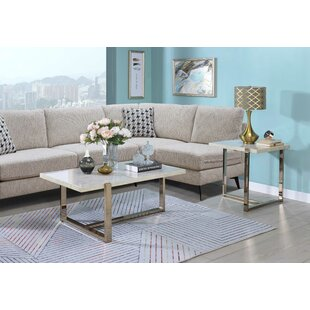 Melchor 2 Piece Coffee Table Set by Orren Ellis Best Design