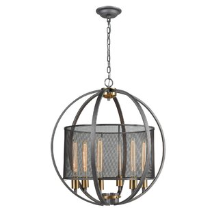Bugg 6-Light Globe Chandel..
