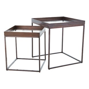 Perfect 2 Piece Nesting Tables By Studio A Home
