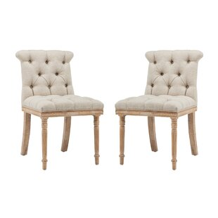 One Allium Way Ligia Upholstered Dining Chair (Set of 2)