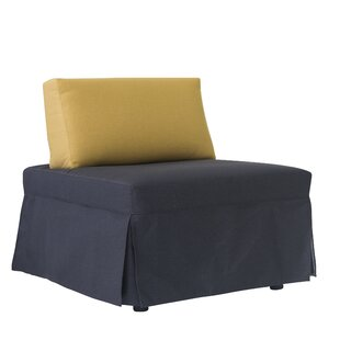 Jeanne Convertible Chair by Latitude Run Wonderful