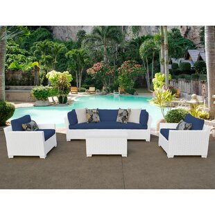 TK Classics Monaco 6 Piece Sectional Set with Cushions