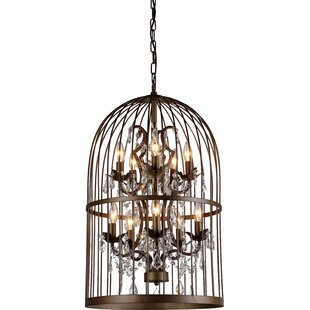 Mitchem 12-Light Lantern Pendant by Graci..