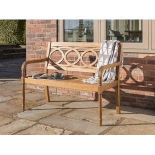 Libramont Wooden Bench By Sol 72 Outdoor