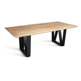 Bedard Solid Wood Dining Table by Foundry Select