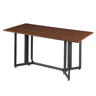 Eleanora Drop Leaf Console to Dining Table Ivy Bronx