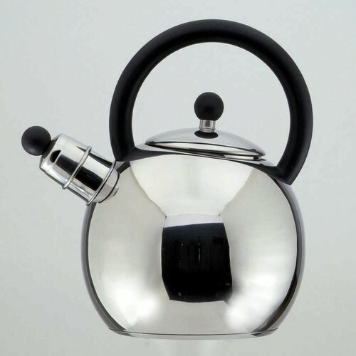 Oxford 2.5 L Stainless Steel Whistling Stove Top Kettle Karl