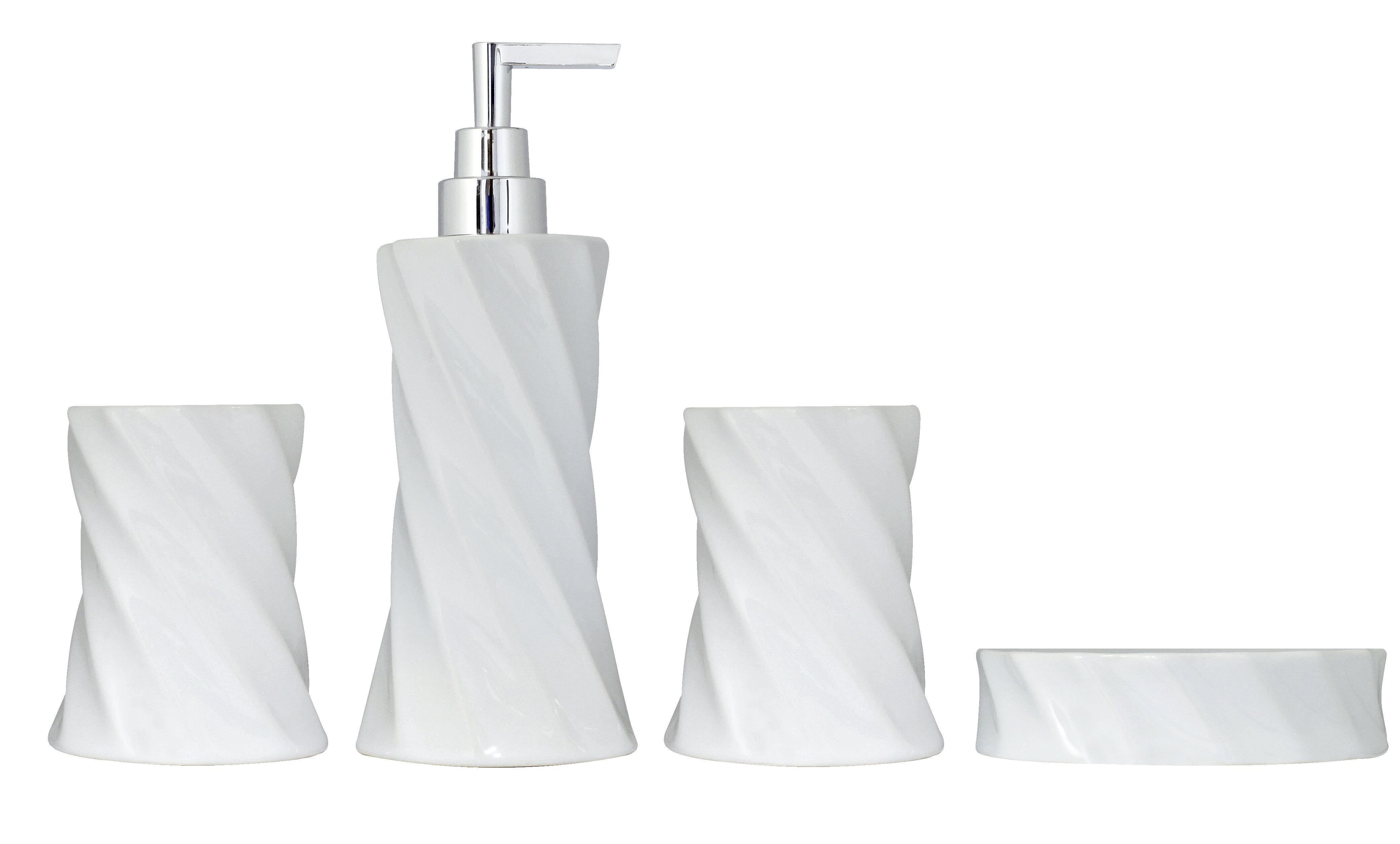 Hamman 11 Piece Bathroom Accessories Set