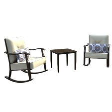 Centerville 3 Piece Dining Set with Cushions