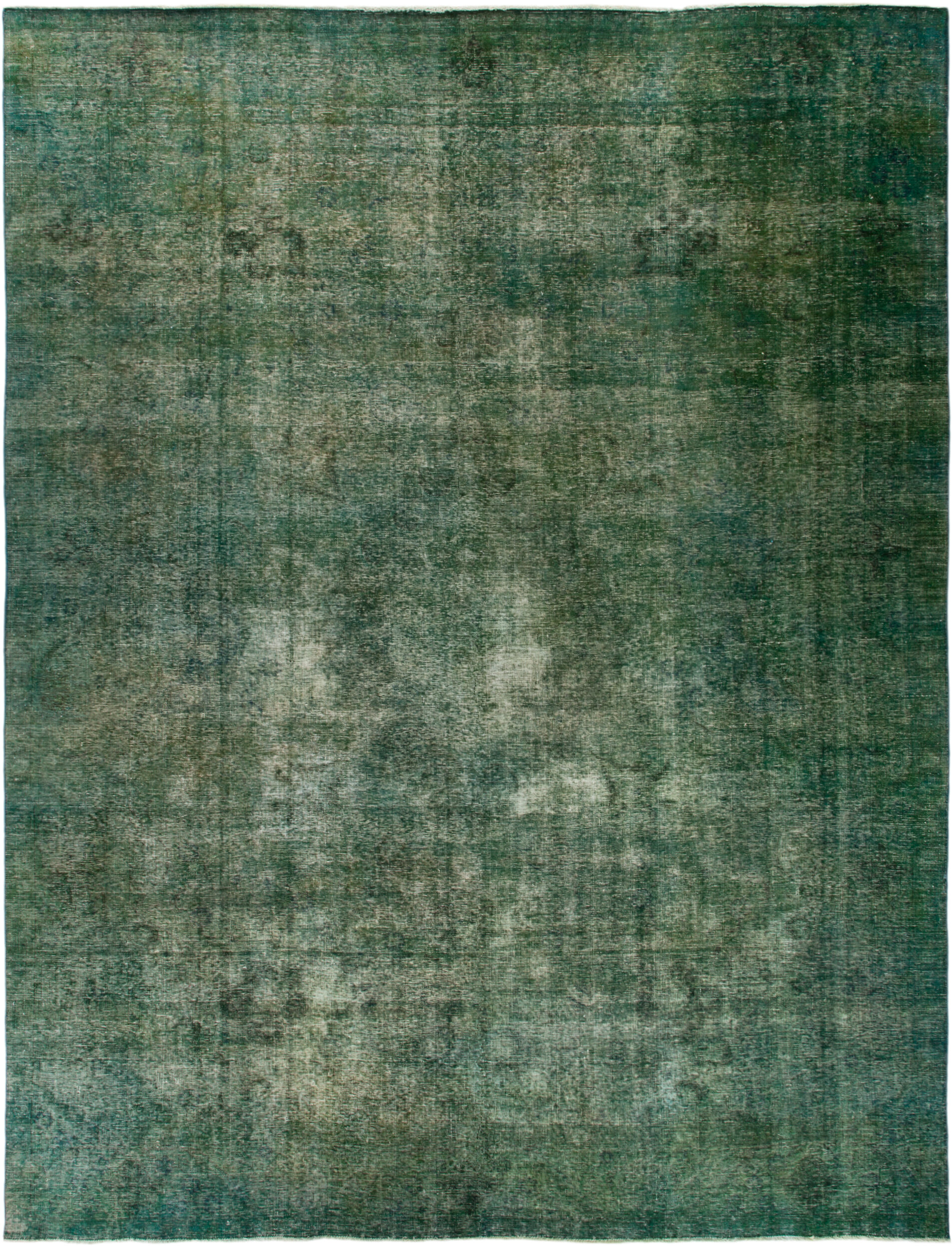 One Of A Kind Skiba Hand Knotted 9 10 X 12 10 Wool Emerald Area Rug