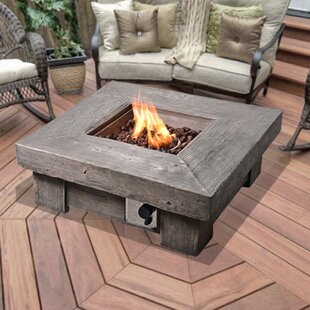 Klingensmith Retro Stone Propane Gas Fire Pit By Sol 72 Outdoor