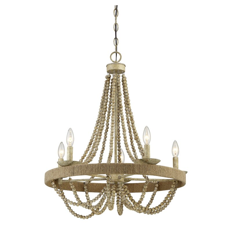 Tremiere 5-Light Empire Chandelier