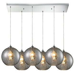 Alcott Hill Rotterdam 6-Light Kitchen Island Pendant