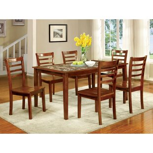 Corbin 7 Piece Dining Set by Hokku Designs
