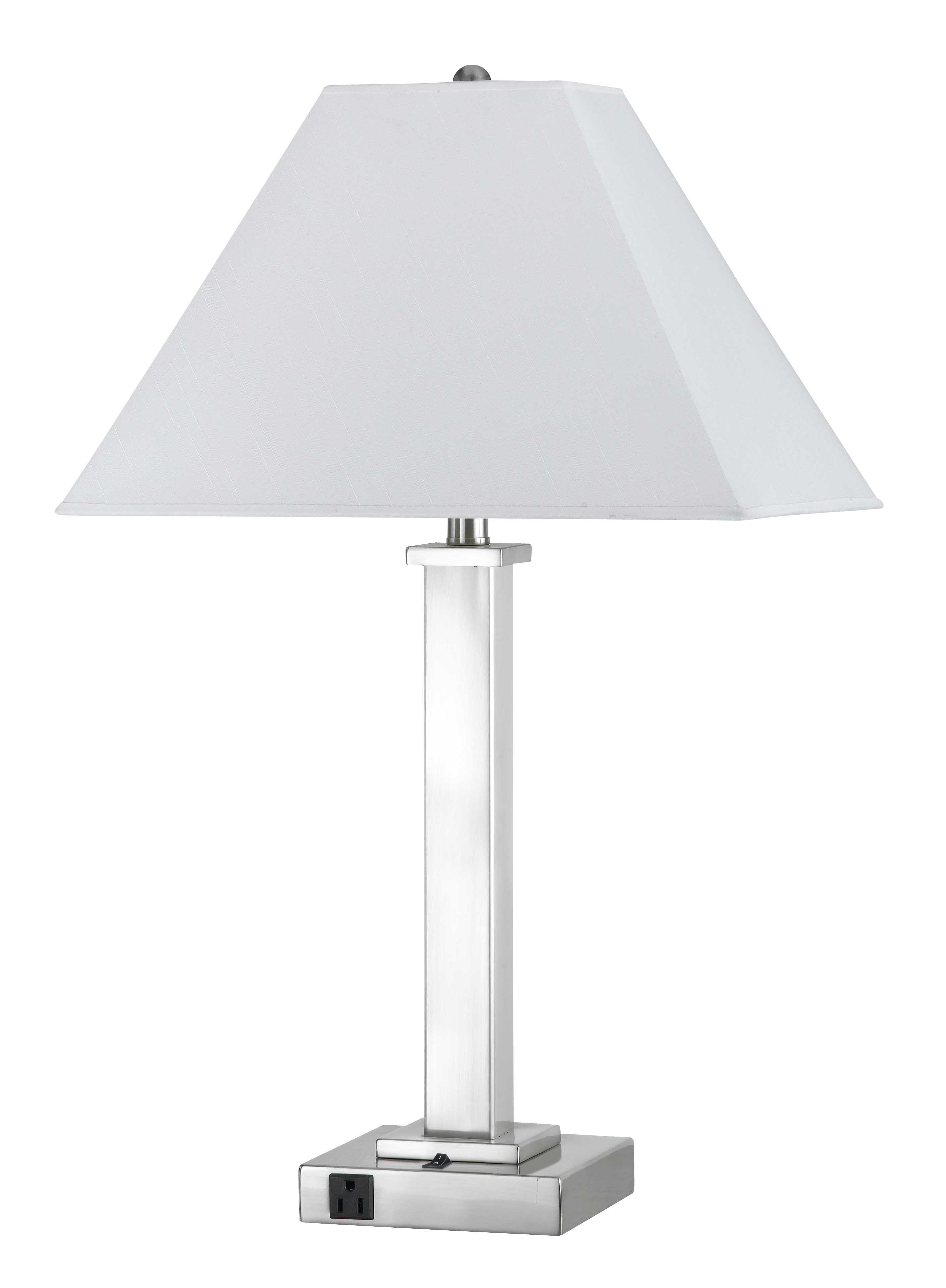 Picture of: Latitude Run Wellesley 28 Clear Glass Table Lamp Reviews Wayfair