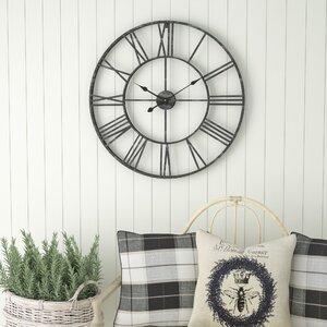 living room wall clock. Oversized Eisenhauer 30  Wall Clock Clocks You ll Love Wayfair