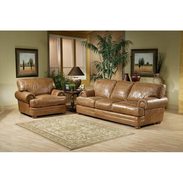 Tan Leather Sofa Set | Wayfair