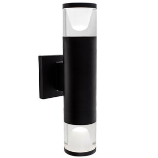 Online Reviews Stinnett LED Outdoor Sconce By Orren Ellis
