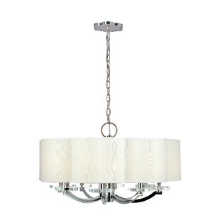Everly Quinn Maya 8-Light Shaded Chandelier