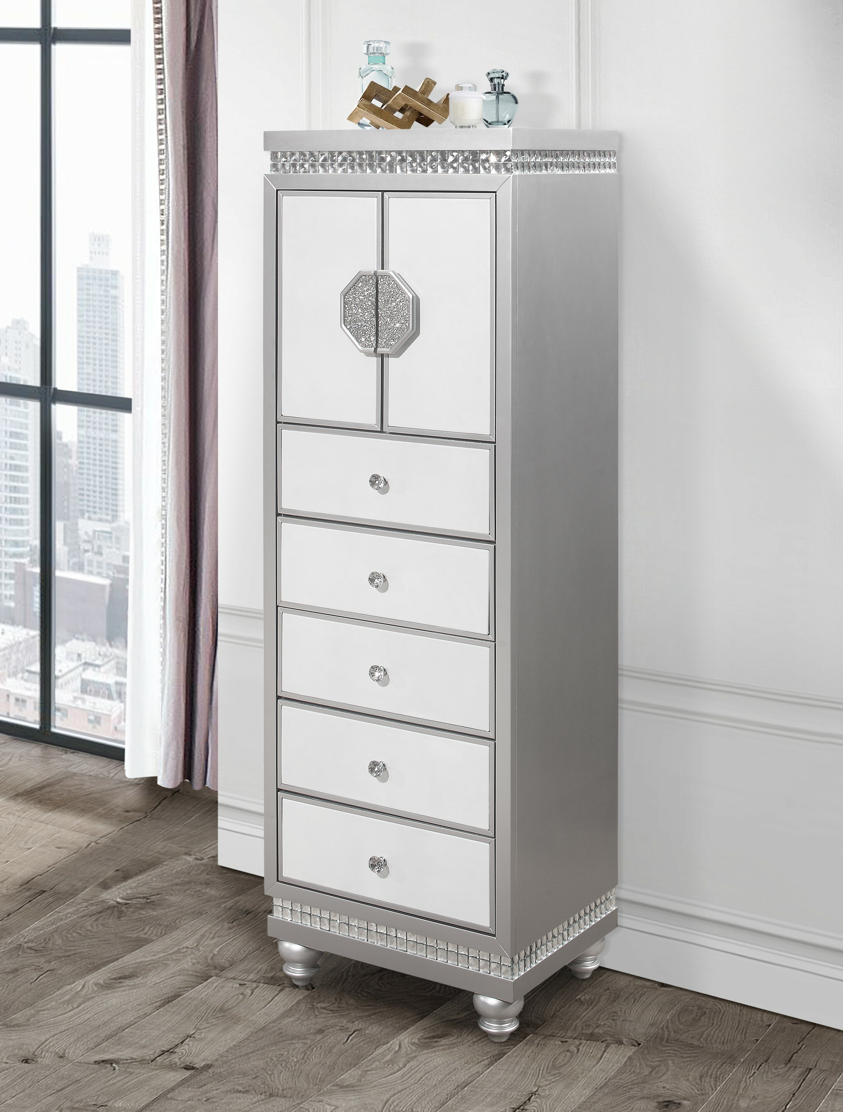 House Of Hampton Vogelsang 5 Drawer Lingerie Chest Wayfair