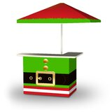 Zaytoune Christmas Elf 2-Piece Home Bar Set