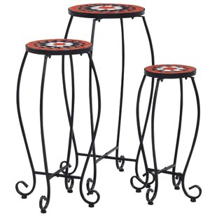 Fruge 3 Piece Side Table Set By World Menagerie