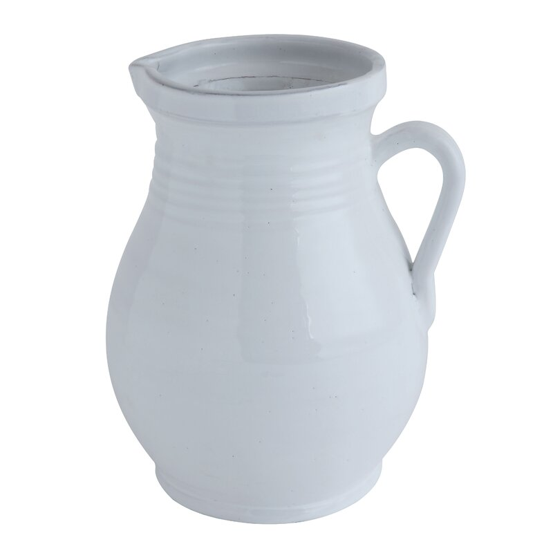 Hawkin Terracotta 104 oz. Pitcher - 15 Stunning European Country Inspired Farmhouse Ingredients