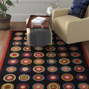 Affordable Frieda Black Rug ByWinston Porter