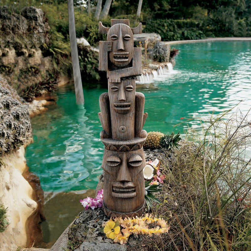 Design Toscano Tiki Gods The Three Pleasures Statue Amp Reviews Wayfair