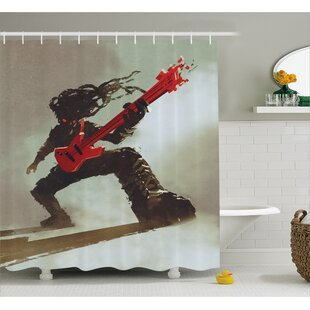 Rocker Decor Single Shower Curtain