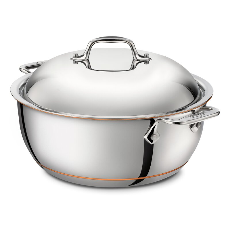 All-Clad 5.5 Qt. Stainless Steel Round Dutch Oven