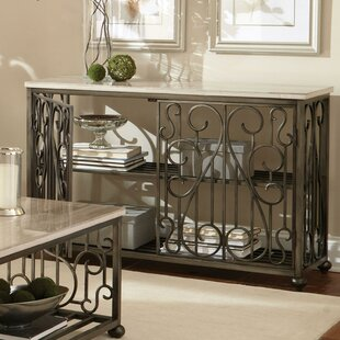 Console Table with Magazin..