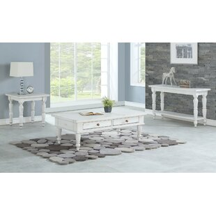August Grove Spurgeon 3 Piece Coffee Table Set
