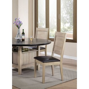 Arrellano Upholstered Dining Chair Loon Peak