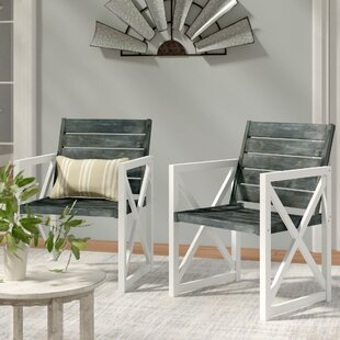 Schweigert Patio Dining Chair (Set of 2)